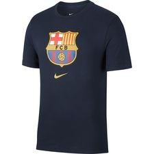 Barcelona T-Shirt Evergreen Crest - Navy Barn