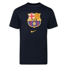 Barcelona T-Shirt Evergreen Crest - Navy