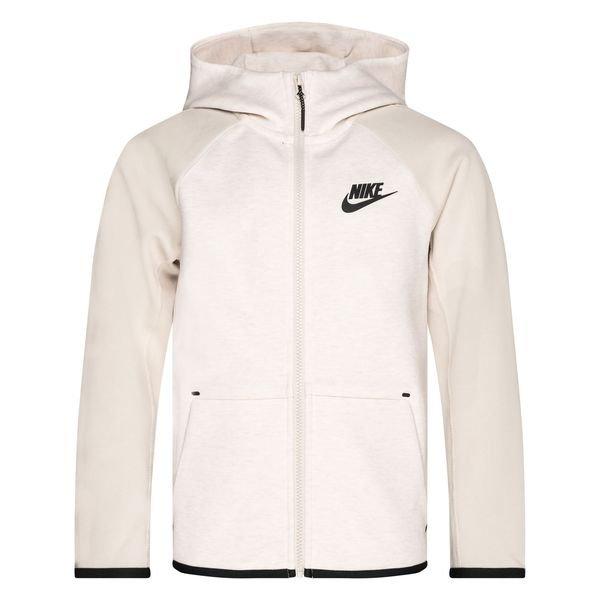 Nike Sweat à Capuche Tech Fleece Essentials FZ BeigeNoir Enfant