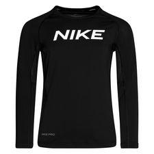 Nike Pro Træningstrøje - Sort/Hvid Børn thumbnail