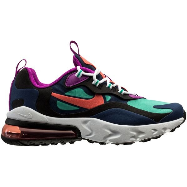 Nike Air Max 270 React Blue Void Purple Black Kids Www