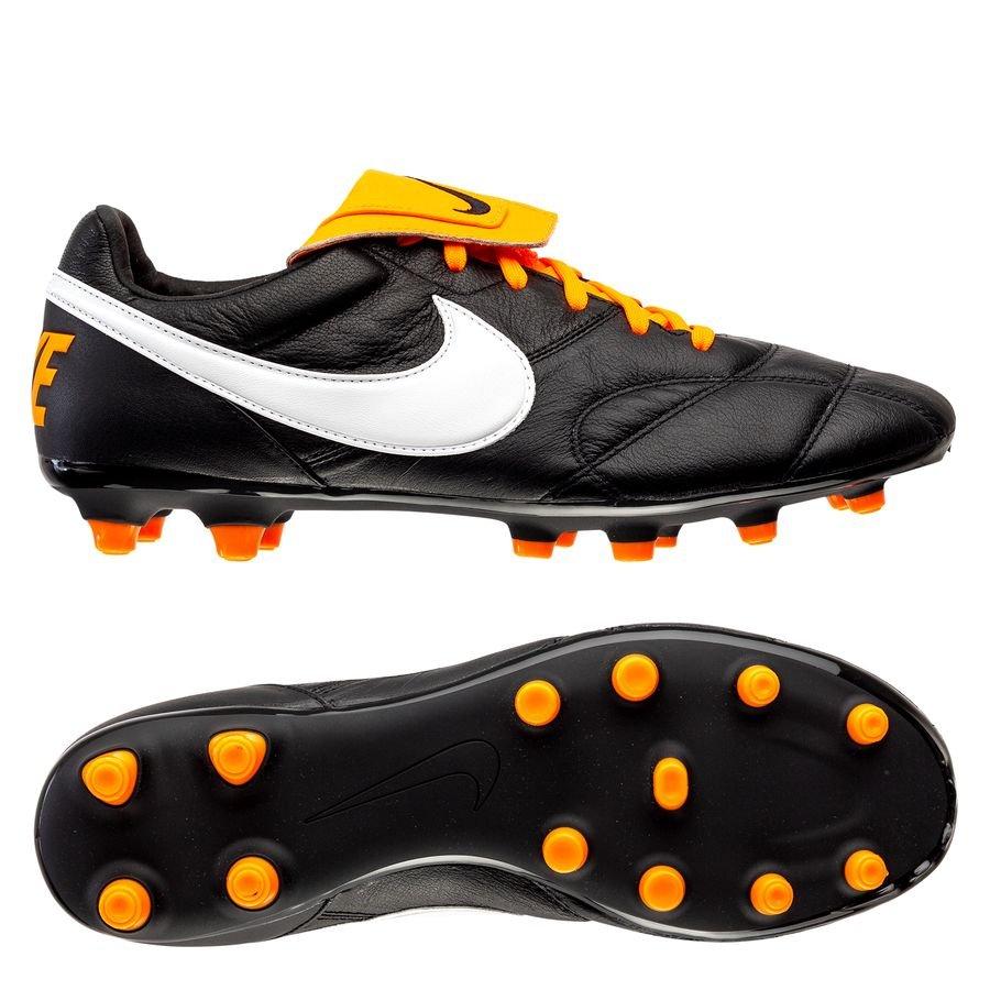 Nike Premier II FG - Sort/Hvid/Orange