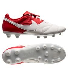 Nike Premier II FG - Rød/Hvid
