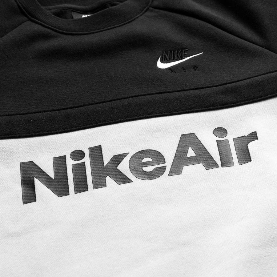 Nike Air Sweatshirt Crew ZwartWit Kinderen