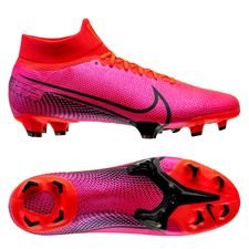 Nike Mercurial Superfly 7 Pro FG - Pink/Sort