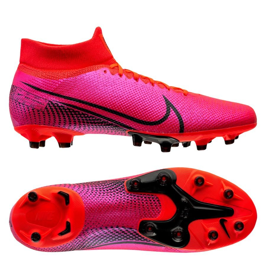 Nike Mercurial Superfly 7 Pro AG-PRO Future Lab - Pink/Sort