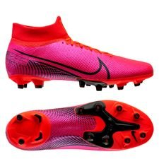 Nike Mercurial Superfly 7 Pro AG-PRO - Pink/Sort