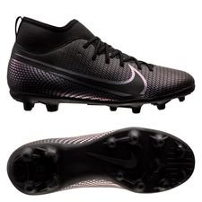 Nike Mercurial Superfly 7 Club MG Kinetic Black - Sort Børn