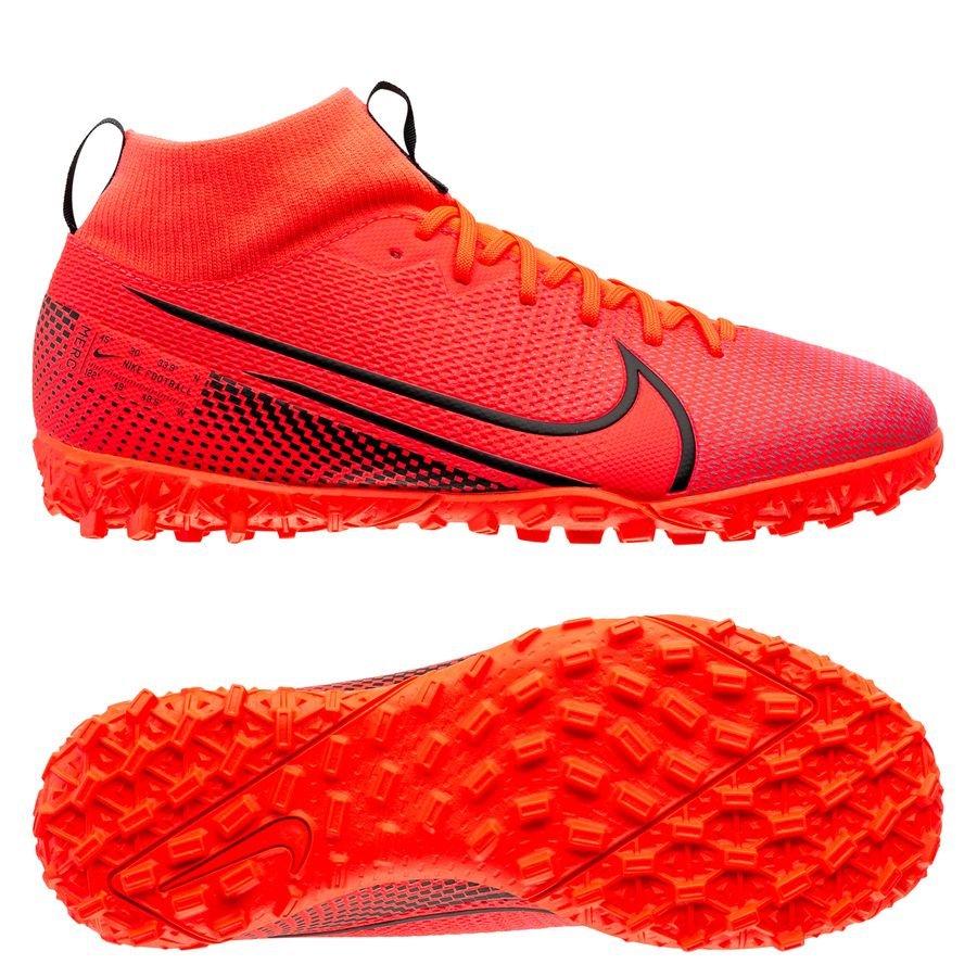 Nike Mercurial Superfly 7 Academy TF Future Lab - Pink/Sort Børn