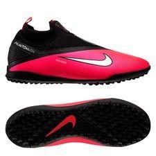 Nike Phantom Vision 2 React Pro DF TF Future Lab - Pink/Sølv/Sort