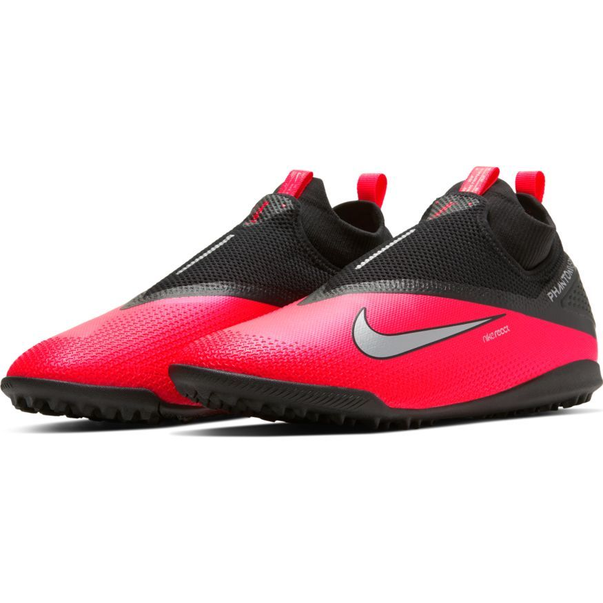 Nike Phantom Vision 2 React Pro DF TF Future Lab – Lyserød/Sølv/Sort