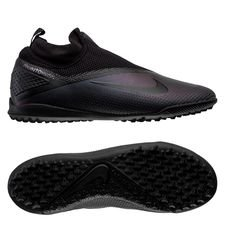 Nike Phantom Vision 2 React Pro DF TF Kinetic Black - Sort