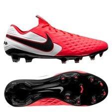 Nike Tiempo Legend 8 Elite FG - Pink/Sort/Hvid