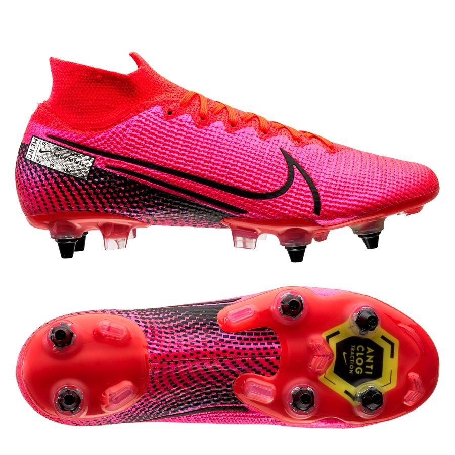 Nike Mercurial Superfly 7 Elite SG-PRO Anti-Clog Future Lab – Pink/Sort