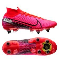 Nike Mercurial Superfly 7 Elite SG-PRO - Pink/Sort