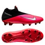 Nike Phantom Vision 2 Elite DF FG Future Lab - Laser Crimson/Metallic Silver/Black