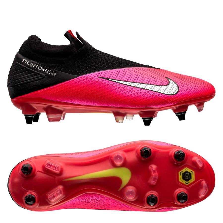 Nike Phantom Vision 2 Elite DF SG-PRO Anti-Clog Future Lab - Pink/Sølv/Sort