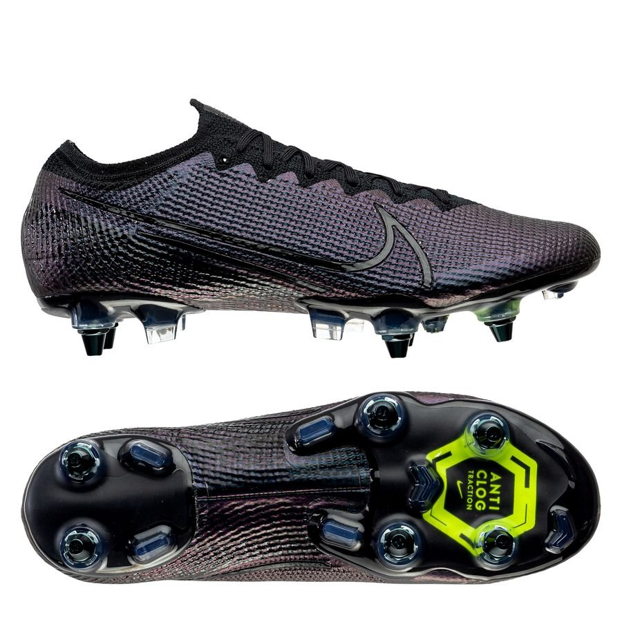 Nike Mercurial Vapor 13 Elite SG-PRO Anti-Clog Kinetic Black - Sort