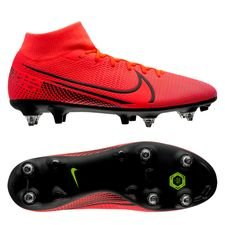 Nike Mercurial Superfly 7 Academy SG-PRO - Pink/Sort