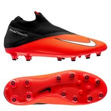 Nike Phantom Vision 2 Pro DF AG-PRO - Pink/Sølv/Sort