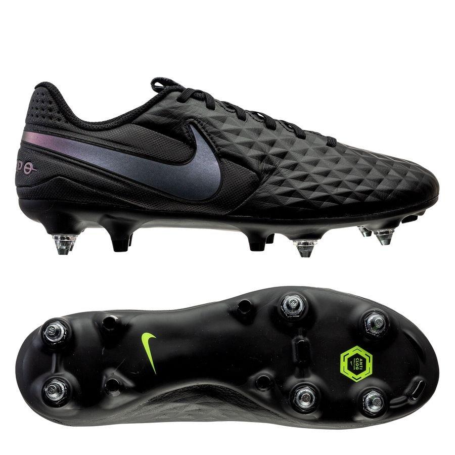 Nike Tiempo Legend 8 Academy SG-PRO Anti-Clog Kinetic Black - Sort