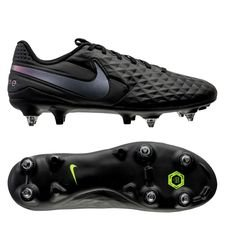 Nike Tiempo Legend 8 Academy SG-PRO Anti-Clog Kinetic Black - Sort