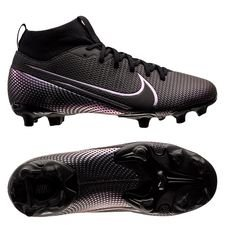 Nike Mercurial Superfly 7 Academy MG Kinetic Black - Sort Børn