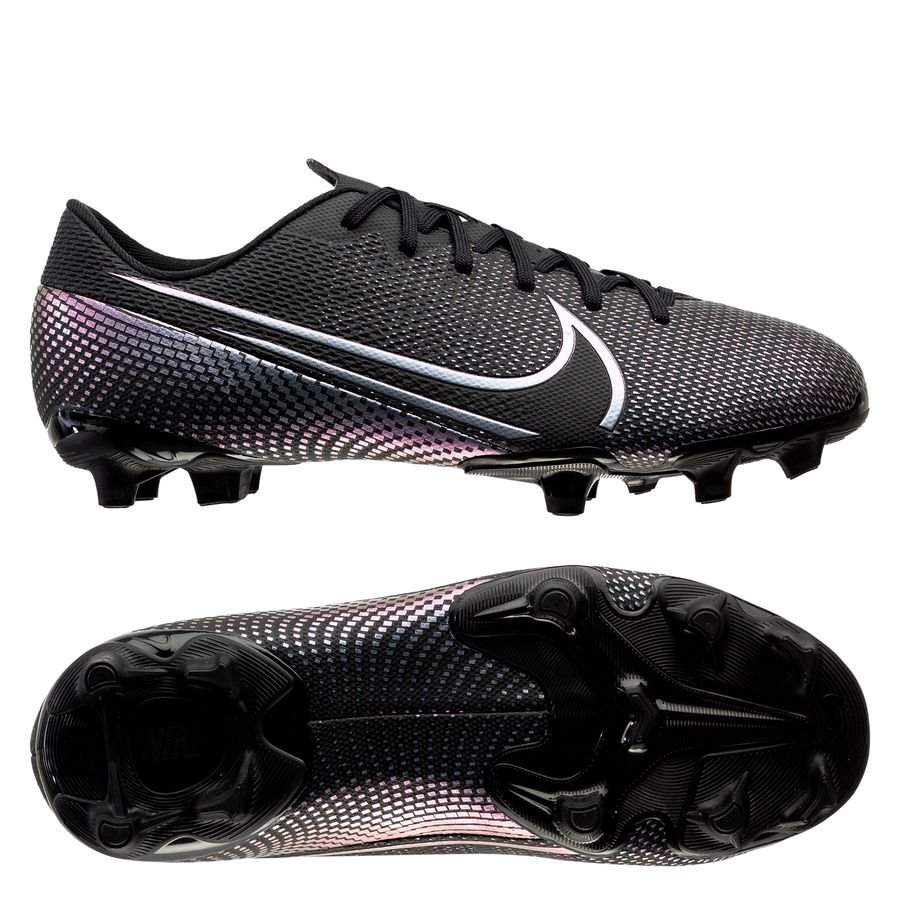 Nike Mercurial Vapor 13 Academy MG Kinetic Black - Sort Børn