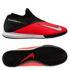Nike Phantom Vision 2 Academy DF IC - Pink/Sølv/Sort