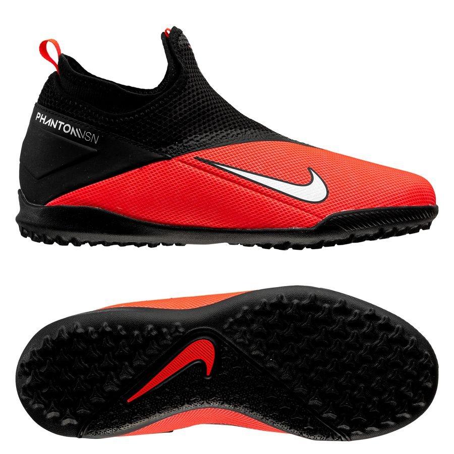 Nike Phantom Vision 2 Academy DF TF Future Lab RozeZilverZwart Kinderen