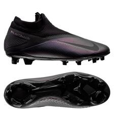 Nike Phantom Vision 2 Pro DF FG - Sort