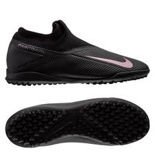 Nike Phantom Vision 2 Academy DF TF Kinetic Black - Sort