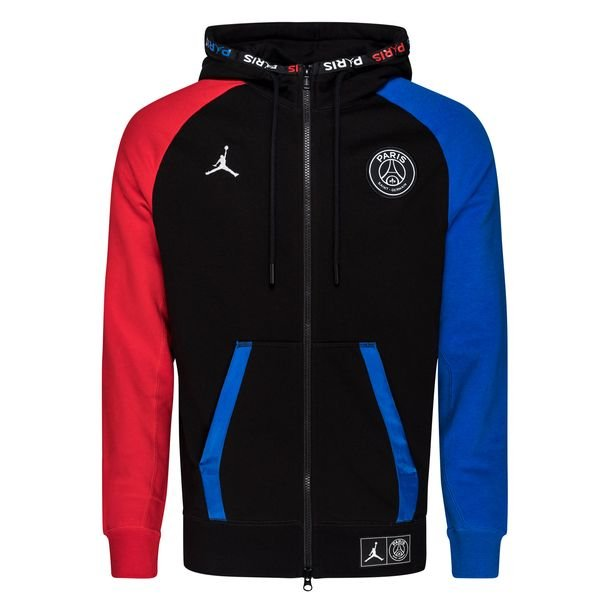 Nike Hettegenser Jordan x PSG SortBlåRød LIMITED EDITION