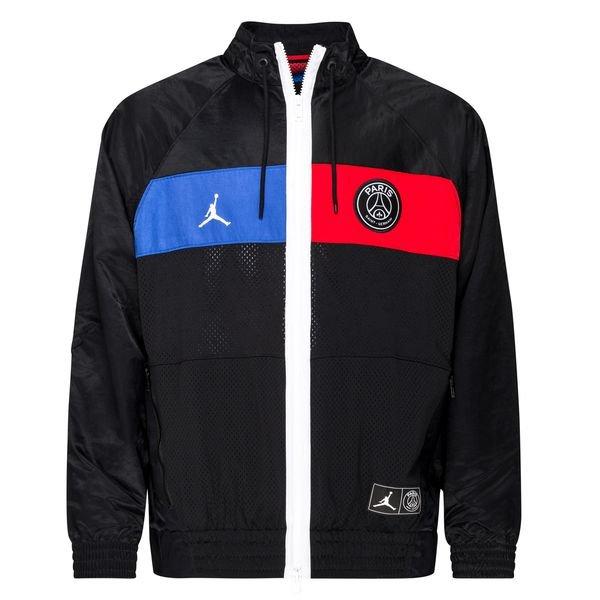 Nike Track Veste Jordan x PSG NoirBleuRouge ÉDITION LIMITÉE