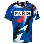 Nike Mesh T-Shirt Jordan x PSG - Bleu/Rouge ÉDITION LIMITÉE