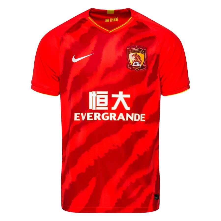 Guangzhou Evergrande FC Hjemmebanetrøje 2020