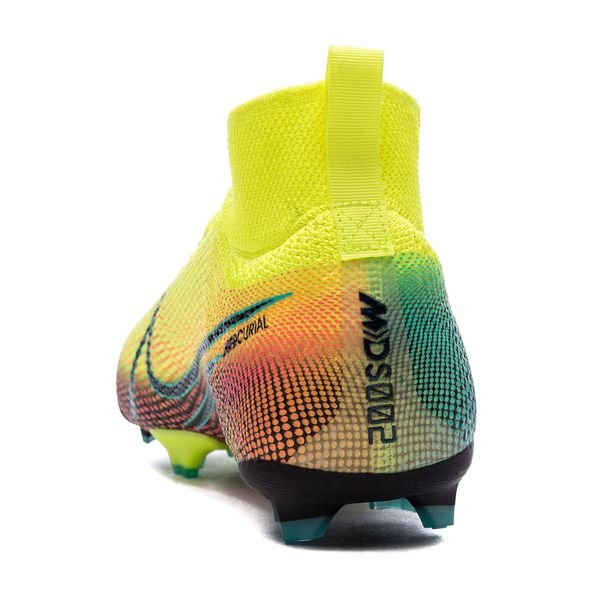 Nike Mercurial Superfly 7 Elite FG Dream Speed 2 JauneNoirVert Enfant