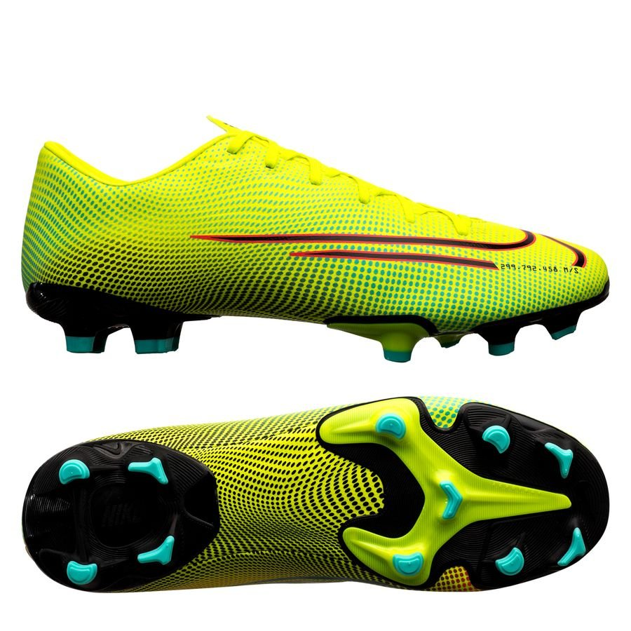 Nike Mercurial Vapor 13 Academy MG Dream Speed 2 – Gul/Sort/Grøn