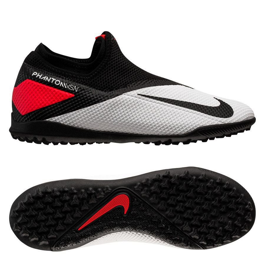 Nike Phantom Vision 2 Academy DF TF Player Inspired - Hvid/Sort/Pink