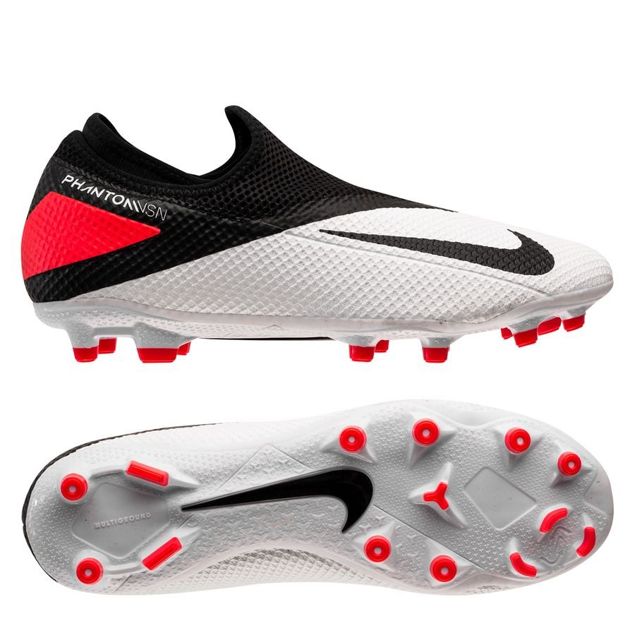 Nike Phantom Vision 2 Academy DF MG Player Inspired - Hvid/Sort/Pink