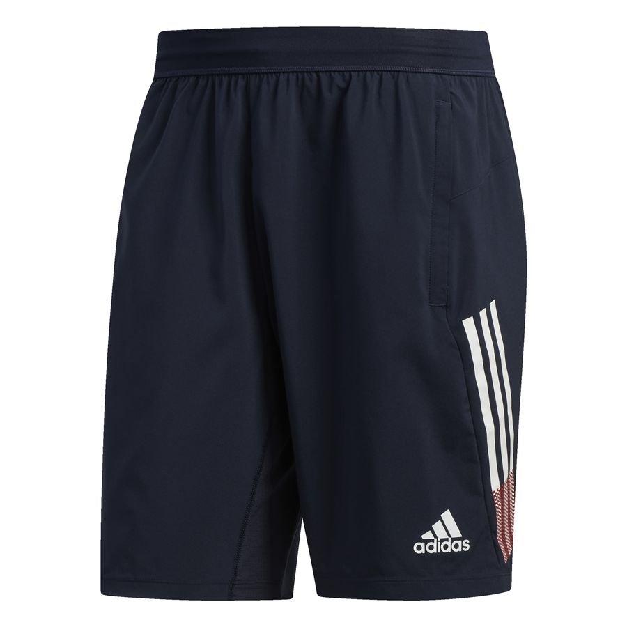 4KRFT 3-Stripes 9-Inch shorts Blue thumbnail