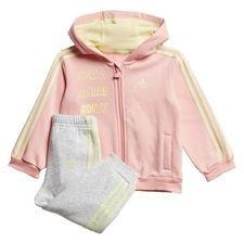 Hooded Fleece Jogginganzug Rosa