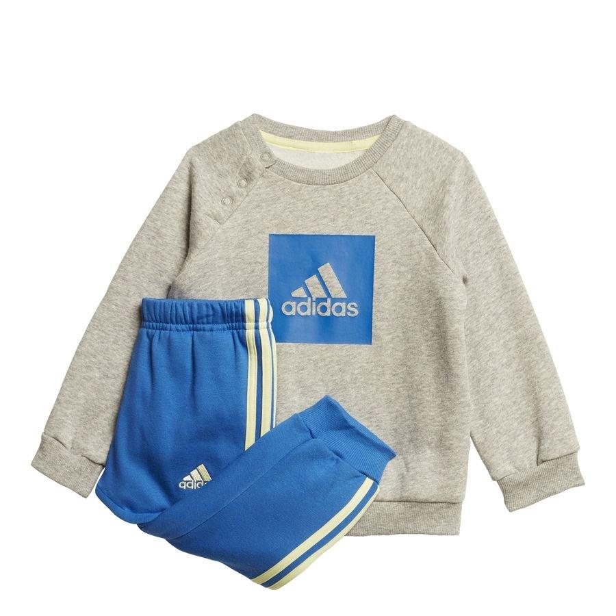 3-Stripes Fleece joggingdragt Grey thumbnail