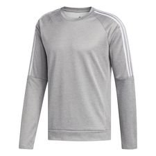 Own the Run 3-Streifen Sweatshirt Grau