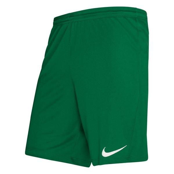 Nike Short Dry Park III VertBlanc