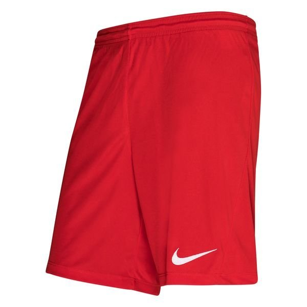 Nike Shorts Dry Park III University RedWhite Kids