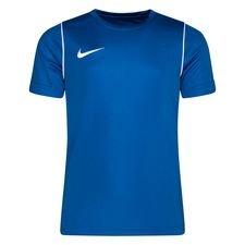 Nike Training T-Shirt Park 20 Dry - Blau/Weiß Kinder