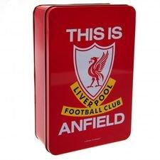 Liverpool Tin Box - Röd/Vit