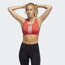 Don´t Rest 3-Streifen Sport-BH Rot