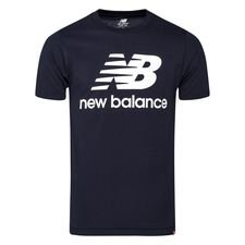 New Balance Essentials T-Shirt - Navy/Weiß
